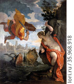 Perseus and Andromeda, oil on canvas by Paolo Veronese, 1584. Редакционное фото, агентство World History Archive / Фотобанк Лори