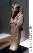 Ushabti of Senkamanisken. Serpentine. King Senkamanisken, Nuri, Napatan Period (643-623 B.C.). Редакционное фото, агентство World History Archive / Фотобанк Лори
