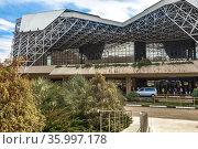 Международный аэропорт Сочи имени В. И. Севастьянова (AER), Адлер. Стоковое фото, фотограф Владимир Сергеев / Фотобанк Лори
