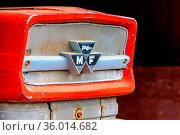 Prats, Andorra : 2020 1 May : Old Massey Ferguson brand tractor kept... Стоковое фото, фотограф Zoonar.com/Martin Silva Cosentino / age Fotostock / Фотобанк Лори
