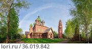 St. John the Baptist Church. The city of Yaroslavl, Golden ring of... Стоковое фото, фотограф Zoonar.com/Yury Dmitrienko / easy Fotostock / Фотобанк Лори