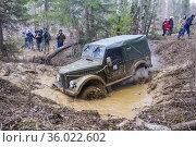 GAZ 69. Редакционное фото, фотограф Art Konovalov / Фотобанк Лори