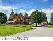 Коломенский дворец, Москва. Редакционное фото, фотограф Мария Кылосова / Фотобанк Лори
