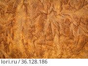 Burnt sienna - background and texture of backlit handmade Nepalese... Стоковое фото, фотограф Zoonar.com/Marek Uliasz / easy Fotostock / Фотобанк Лори