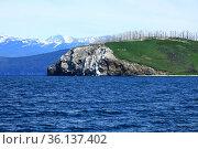 Байкал Чивыркуйский залив остров голый. Забайкальский национальный парк. Стоковое фото, фотограф Валерий Митяшов / Фотобанк Лори