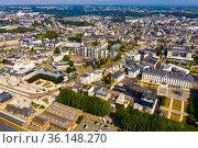 Saint-Brieuc city in Brittany region of northwest France. Стоковое фото, фотограф Яков Филимонов / Фотобанк Лори