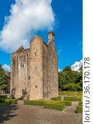 Ashtown Castle is a tower house in the Phoenix Park in Dublin, Ireland... Стоковое фото, фотограф Zoonar.com/Boris Breytman / easy Fotostock / Фотобанк Лори