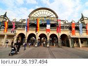 Die neue Saison im Europapark Rust ist eröffnet - Radio Regenbogen... Стоковое фото, фотограф Zoonar.com/Joachim Hahne / age Fotostock / Фотобанк Лори