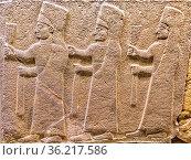Three Priests from the legend of Gilgamesh Ankara Turkey. Стоковое фото, фотограф Zoonar.com/Graham Mulrooney / age Fotostock / Фотобанк Лори