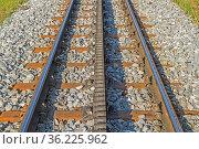 Detailansicht - Mit der alten Zahnnradbahn auf die Zugspitze, den... Стоковое фото, фотограф Zoonar.com/Eder Christa / easy Fotostock / Фотобанк Лори