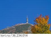 Der Monte Bondone, der Hausberg von Trient ist ein herrlicher Aussichtsgipfel... Стоковое фото, фотограф Zoonar.com/Eder Christa / easy Fotostock / Фотобанк Лори