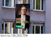 Amtsinhaber Dr. Dieter Salomon gilt als Favorit für die Wahl zum ... Стоковое фото, фотограф Zoonar.com/Joachim Hahne / age Fotostock / Фотобанк Лори