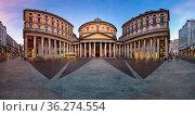 MILAN, ITALY - JANUARY 2, 2015: San Carlo al Corso is a neo-classic... Стоковое фото, фотограф Zoonar.com/Andrey Omelyanchuk / age Fotostock / Фотобанк Лори