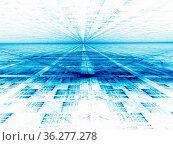 Light background - abstract computer-generated 3d illustration in... Стоковое фото, фотограф Zoonar.com/Olga Gavrilenko / easy Fotostock / Фотобанк Лори