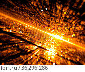 Festive fractal blur - chaos bubbles. Abstract computer-generated... Стоковое фото, фотограф Zoonar.com/Olga Gavrilenko / easy Fotostock / Фотобанк Лори
