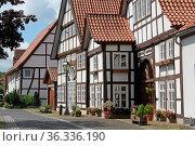Hintere Straße, Lügde. Стоковое фото, фотограф Zoonar.com/Antje Lindert-Rottke / easy Fotostock / Фотобанк Лори