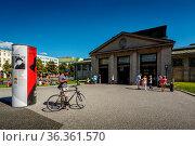 BERLIN - AUGUST 24: Wittenbergplatz Subway Station near KaDeWe Shopping... Стоковое фото, фотограф Zoonar.com/Andrey Omelyanchuk / age Fotostock / Фотобанк Лори