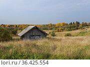 Деревня Нинисельга. Республика Карелия (2020 год). Стоковое фото, фотограф Дмитрий Шишков / Фотобанк Лори