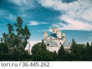 Streshin, Zhlobinsky District Of The Gomel Region Of Belarus. Old... Стоковое фото, фотограф Ryhor Bruyeu / easy Fotostock / Фотобанк Лори