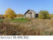 Деревня Мегрозеро. Республика Карелия (2020 год). Стоковое фото, фотограф Дмитрий Шишков / Фотобанк Лори
