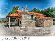 Chapel Senhora das Neves in Barros close to Ponte de Lima, Camino... Стоковое фото, фотограф Zoonar.com/Alexander Ludwig / easy Fotostock / Фотобанк Лори
