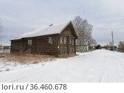 Деревня Куйтежа. Республика Карелия (2020 год). Стоковое фото, фотограф Дмитрий Шишков / Фотобанк Лори