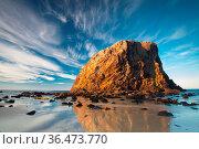 A beautiful afternoon Glasshouse Beach near Narooma, NSW, Australia. Стоковое фото, фотограф Zoonar.com/Chris Putnam / easy Fotostock / Фотобанк Лори