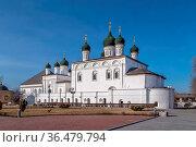 Trinity Monastery in Astrakhan Kremlin, Russia. Стоковое фото, фотограф Zoonar.com/Boris Breytman / easy Fotostock / Фотобанк Лори