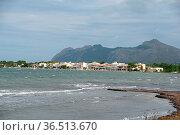 Bucht von Pollenca, Mallorca, bucht von Pollensa, bucht, spanien,... Стоковое фото, фотограф Zoonar.com/Volker Rauch / easy Fotostock / Фотобанк Лори