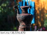 Кумган. Сосуд для воды.. Стоковое фото, фотограф Анатолий Матвейчук / Фотобанк Лори