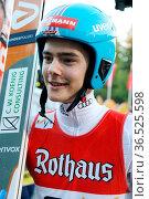 Der zweifache Junioren-Weltmeister: David Siegel (SV Baiersbronn) ... Стоковое фото, фотограф Zoonar.com/Joachim Hahne / age Fotostock / Фотобанк Лори