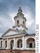 Bell tower of church of the Savior in Ryady in Kostroma city center... Стоковое фото, фотограф Zoonar.com/Boris Breytman / easy Fotostock / Фотобанк Лори