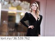 Roberta Ruiu during the Red carpet at the 78th Venice Film Festival... Редакционное фото, фотограф Mirco Toniolo / AGF/Mirco Toniolo / AGF / age Fotostock / Фотобанк Лори