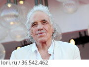 Abel Ferrara during 'Freaks Out' red carpet during the 78th edition... Редакционное фото, фотограф AGF/Maria Laura Antonelli / age Fotostock / Фотобанк Лори