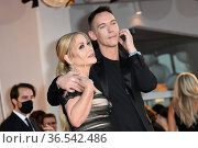 Jonathan Rhys Meyers, Anastacia during 'Freaks Out' red carpet during... Редакционное фото, фотограф AGF/Maria Laura Antonelli / age Fotostock / Фотобанк Лори