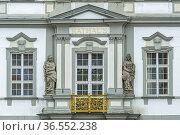 Rathaus, Wangen im Allgäu, Baden-Wuerttemberg, Deutschland  Wangen... Стоковое фото, фотограф Zoonar.com/Günter Lenz / age Fotostock / Фотобанк Лори