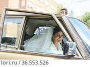 Lucia Martin Alcalde, Santiago Benjumea attends Lucia Martin Alcalde... Редакционное фото, фотограф ©MANUEL CEDRON / age Fotostock / Фотобанк Лори