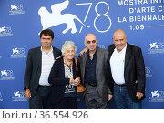 Giovanni Morricone (son of Ennio Morricone), Maria Travia (wife of... Редакционное фото, фотограф Maria Laura Antonelli / AGF/Maria Laura Antonelli / age Fotostock / Фотобанк Лори
