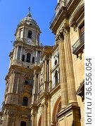 Malaga Cathedral, Andalusia,Spain. Стоковое фото, фотограф Frederic Soreau / age Fotostock / Фотобанк Лори