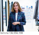 Lourdes Montes Presents The Women's Fashion Collection Of The Silbon... Редакционное фото, фотограф Oscar Gonzalez / WENN / age Fotostock / Фотобанк Лори