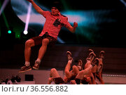 Hoher Unterhaltungswert: DDC Breakdancer (Deutscher-, Europameister... Стоковое фото, фотограф Zoonar.com/J HAHNE / age Fotostock / Фотобанк Лори