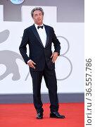 Paolo Sorrentino during closing Ceremony Red Carpet - The 78th Venice... Редакционное фото, фотограф Bildbyran via ZUMA Press/Maria Laura Antonelli / age Fotostock / Фотобанк Лори