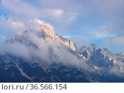 Brenta Gruppe in den Dolomiten - Brenta group in Dolomites. Стоковое фото, фотограф Zoonar.com/Liane Matrisch / easy Fotostock / Фотобанк Лори