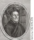 "Athanasius Kircher, 1602 â. "" 1680. German Jesuit scholar and polymath... Редакционное фото, фотограф Classic Vision / age Fotostock / Фотобанк Лори"