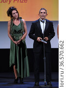 Michelangelo Frammartino during closing Ceremony - 78th Venice International... Редакционное фото, фотограф Bildbyran via ZUMA Press/Maria Laura Antonelli / age Fotostock / Фотобанк Лори