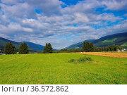 Pustertal in den Alpen - Puster valley in italian Alps. Стоковое фото, фотограф Zoonar.com/Liane Matrisch / easy Fotostock / Фотобанк Лори