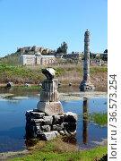 Artemistempel, artemis-tempel, artemis, säule, ruine, antik, archäologie... Стоковое фото, фотограф Zoonar.com/Volker Rauch / easy Fotostock / Фотобанк Лори
