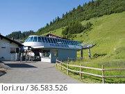 Malbun Express, Malbun, Liechtenstein | Liechtenstein. Стоковое фото, фотограф Zoonar.com/Günter Lenz / age Fotostock / Фотобанк Лори