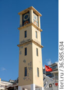 Uhrturm , Kusadasi, Türkei, uhrenturm, uhr, turm, gebäude, architektur... Стоковое фото, фотограф Zoonar.com/Volker Rauch / easy Fotostock / Фотобанк Лори