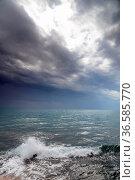 Kreta, ierapetra, griechenland,, wolke, wolken, meer, mittelmeer ... Стоковое фото, фотограф Zoonar.com/Volker Rauch / easy Fotostock / Фотобанк Лори
